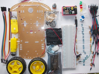 KUIKIDI_ESP8266 Starter kit - smart car_02