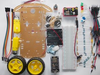 KUIKIDI_ESP8266 Starter kit - smart car_04